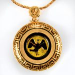 collana gialla cigno giallo