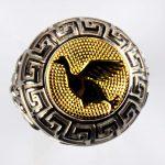anello bianco anatra gialla