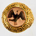 anello giallo cigno ross