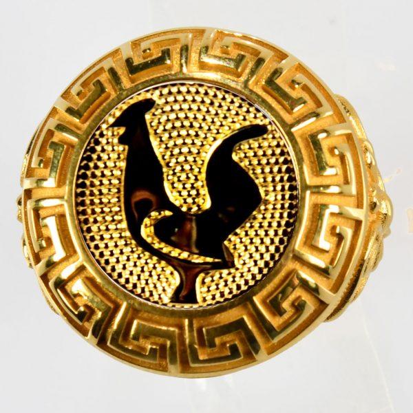 anello giallo gallo giallo