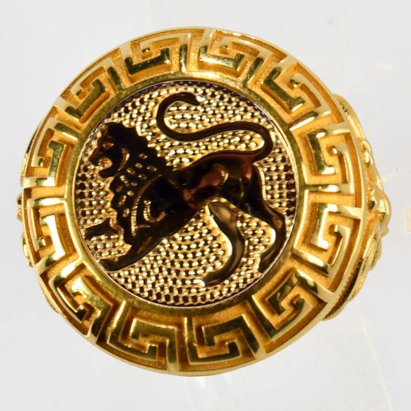 anello giallo leone gialloo