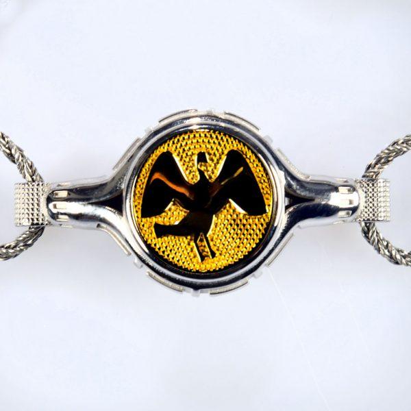 bracciale bianco cigno giallo