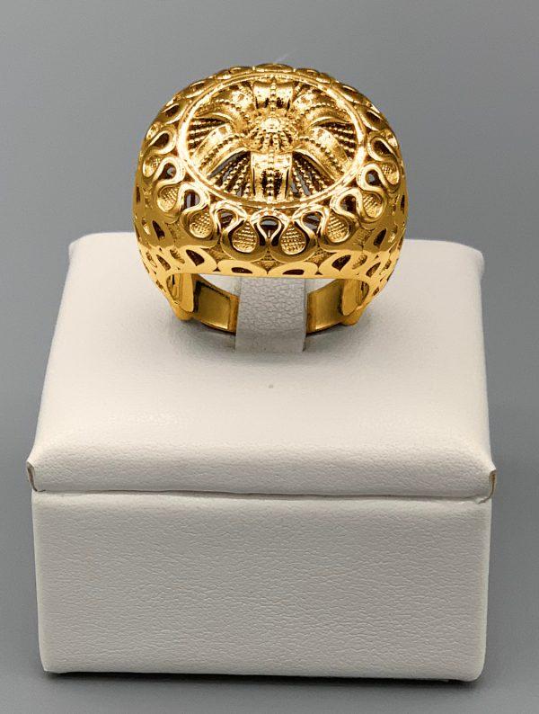 anello frontale superior giallo