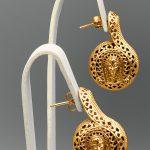 orecchini medea laterale GIALLO